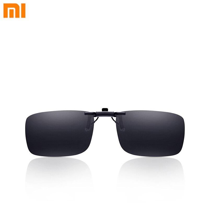 1a2a9df62cf76 Xiaomi Steinhardt Turok TS Marca Óculos De Sol Polarizados Clipe Visão  Clara de Vidro Anti UVA UVB Mijia para Viagens Ao Ar Livre