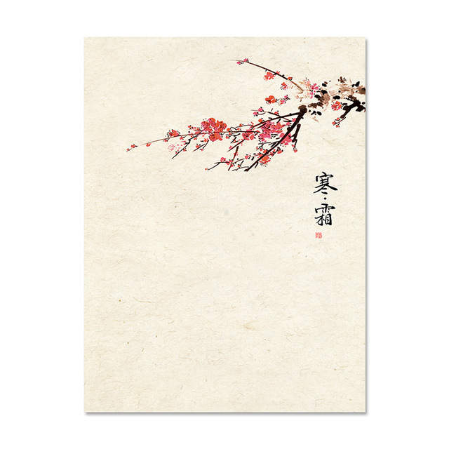 chinese poetry quotes art canvas painting classical hd print ink