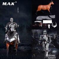 SE014 1/6 коллекционный полный комплект сплав литья под давлением Империя серия Готический рыцарь бронированный военный конь SE012 Готический на