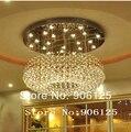 Modern LED Candelabro de Cristal de Luz Luminária 110 V 220 V Bagels Forma do Candelabro de Cristal Luminária + Frete grátis!