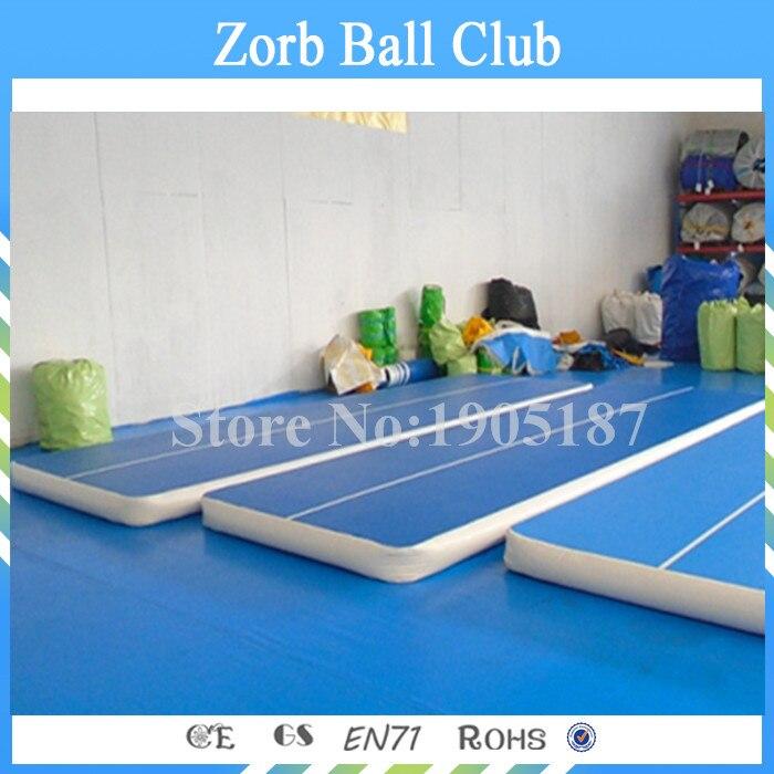 Envío gratis 10x2x0,2 m pista de moda para la venta, estera inflable de aire de pista de gimnasio para entrenamiento