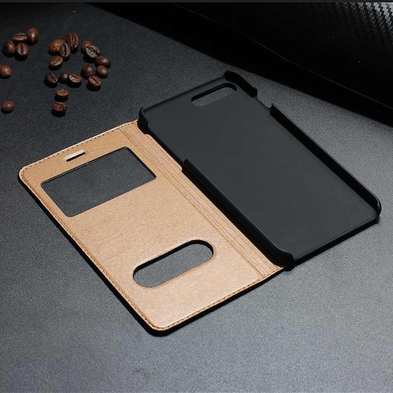 MAKEULIKE Kulit Asli Kasus Untuk Iphone 7 Ditambah Mewah Magnetic - Aksesori dan suku cadang ponsel - Foto 4