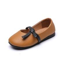 AFDSWG/детская кожаная обувь из искусственной кожи; белые туфли для девочек; розовая детская обувь для девочек; коричневые кожаные туфли принцессы для малышей