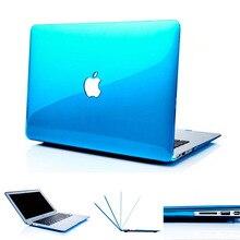 Nouveau Transparent crystal Case Pour Apple mac book Air Pro avec Retina 11 12 13 15 pouce sac d'ordinateur portable Pour Mac livre 11.6 13.3 15.4