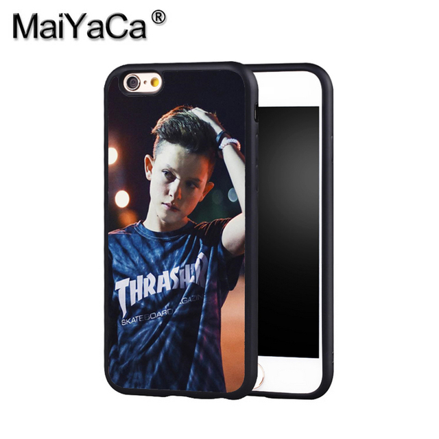 buy popular b6d0b f607a US $6.3 |MaiYaCa JACOB SARTORIUS THRASHER Phone Case Cover For Iphone X 8 6  6S Plus 7 7 Plus 5 5S 5C 4S SE Mobie Soft Rubber Case-in Half-wrapped ...