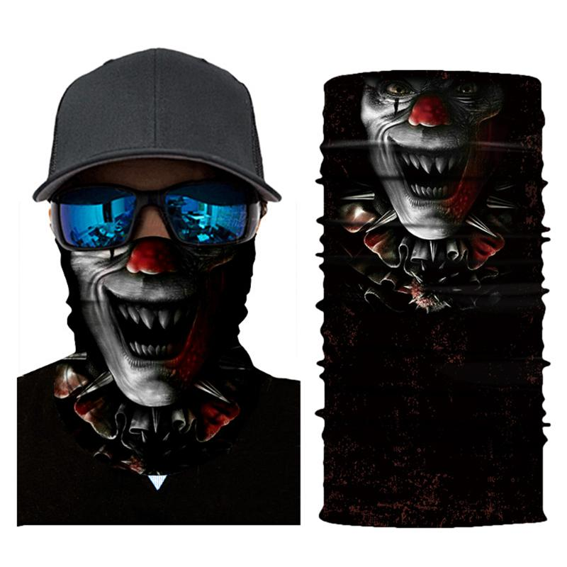 3D Digital Breathable Outdoor Sports Riding Headband Scarf Geometric Print Face Mask Casual Accessories Cycling Equipment