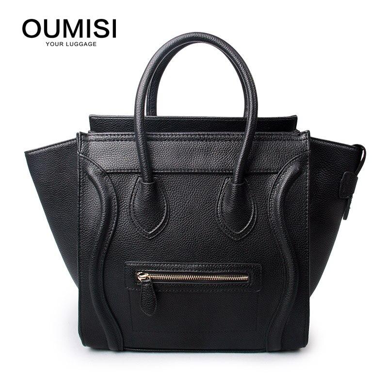 OUMISI Women Leather Handbags Vintage Woman Bags Bag Handbag Fashion Handbags Women Shoulder Bags Leather Pu