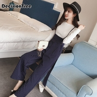 2019 summer drop crotch romper jumpsuits wide leg strappy overalls women playsuit spaghetti strap sexy o neck plus