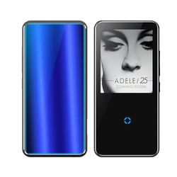 8GB MP 3 Player Walkman Lossless Recorder FM Radio Video Movie Thin MP4 Music Player with storage, 2.4 Inch Touch Screen Players