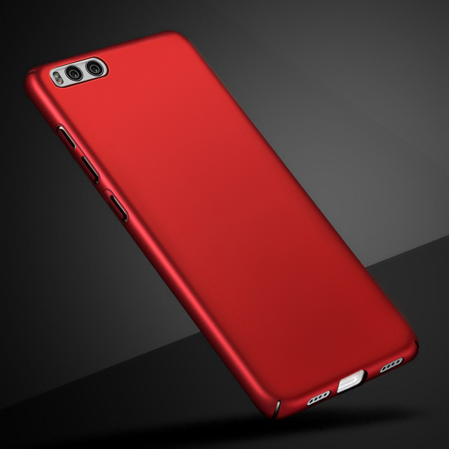 Original Case For Xiaomi mi 4i 4C 5 M5 M6 Phone Case Nice Hard PC Plain Frosted Back Cover For Xiaomi mi 5X 5S A1 6 Phone Shell in Fitted Cases from Cellphones Telecommunications