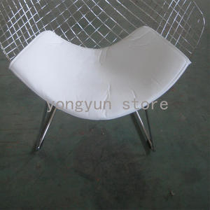 AIBOULLY For Wire Seat Cushion PU Material Only PAD Chair