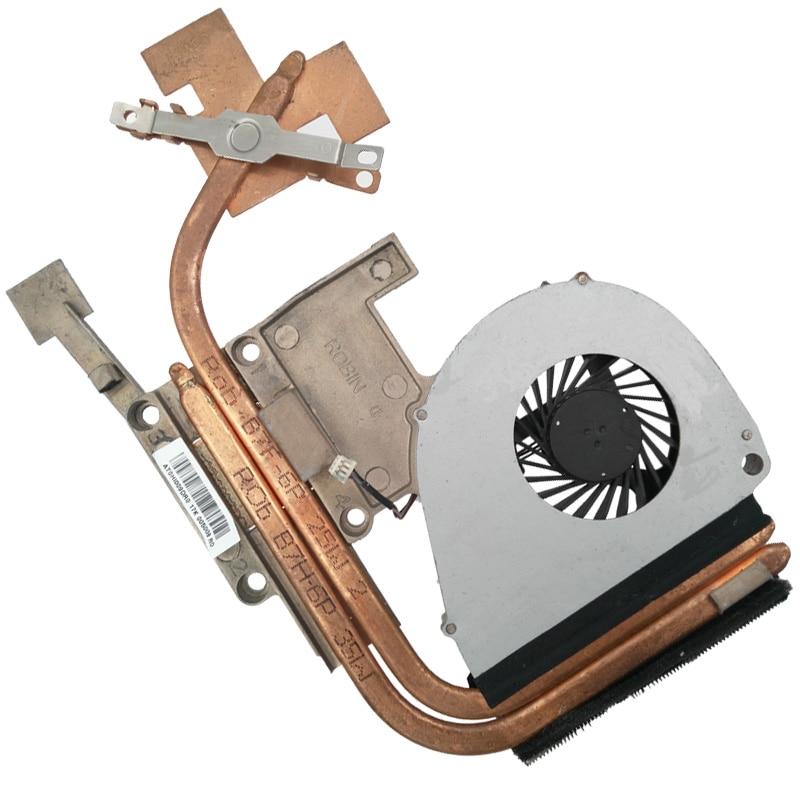Nueva computadora portátil ventilador de refrigeración para ACER 5750 5750G disipador térmico para discreto tarjeta de vídeo I7 CPU memoria: 2 GB KSB06105HA CPU ventilador del radiador