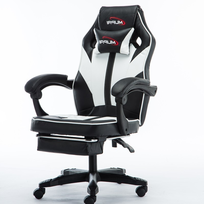 Shipping Free Esports Gaming Boss Office Silla Gamer Chair 7 Point Massage With Wheel Ergonomics Can Lie With Footrest