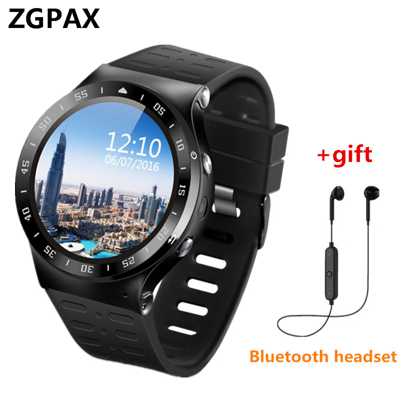Здесь продается  In Stock Android 5.1 ZGPAX Smart Watch Phone SmartWatch 3G Calling 2MP Camera Pedometer Heart Rate Montior For iphone xiaomi   Бытовая электроника
