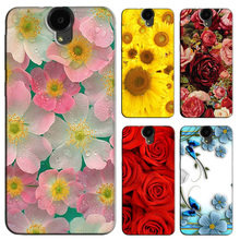 Cartoon Animal Flower Phone Case for HTC E9 Plus Best Quality Hard PC Back Cover Fundas for HTC E9 / E9 Plus