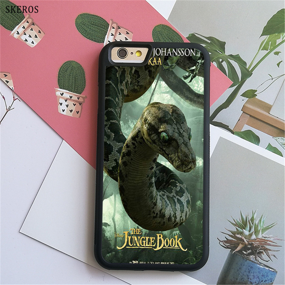 SKEROS The Jungle Book 9 (3) phone case for iphone X 4 4s 5 5s 6 6s 7 8 6 plus 6s plus 7 ...
