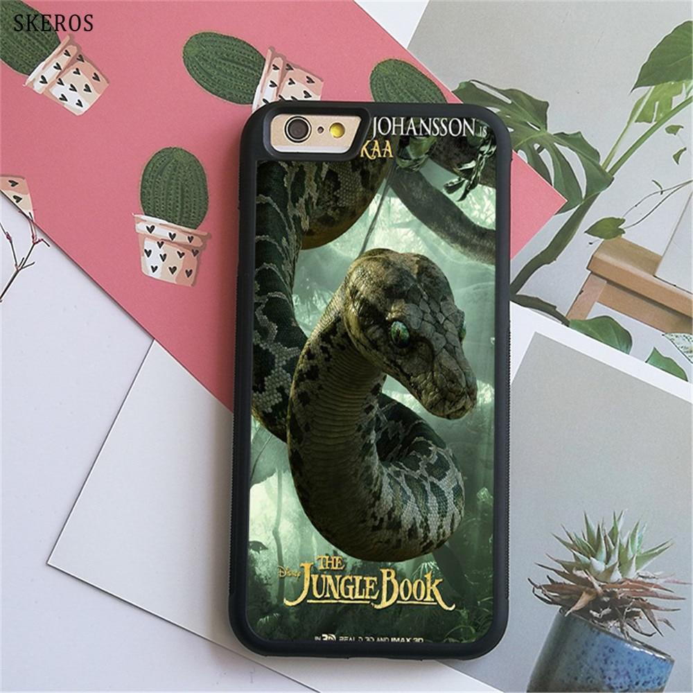 SKEROS The Jungle Book 9 (3) phone case for iphone X 4 4s 5 5s 6 6s 7 8 6 plus 6s plus 7 ...