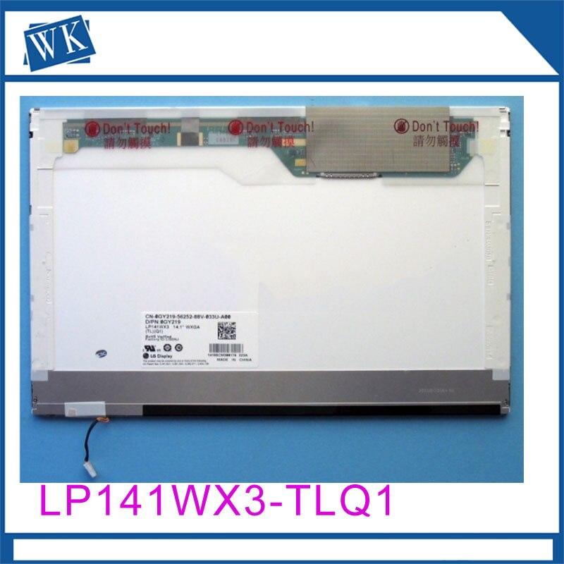 Free Shipping! LP141WX3-TLQ1 LP141WX3-TLR1 LP141WX1-TLE6 QD14TL01 QD14TL02 Laptop lcd screen 1280*800 LVDS 30pinsFree Shipping! LP141WX3-TLQ1 LP141WX3-TLR1 LP141WX1-TLE6 QD14TL01 QD14TL02 Laptop lcd screen 1280*800 LVDS 30pins
