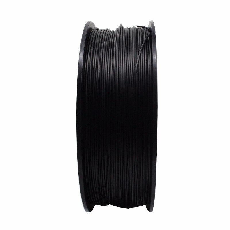 Fibra de carbono pla novo design 3d filamento da impressora 1kg de fibra de carbono 1.75mm impressão 3d impressão filamentos extrusora