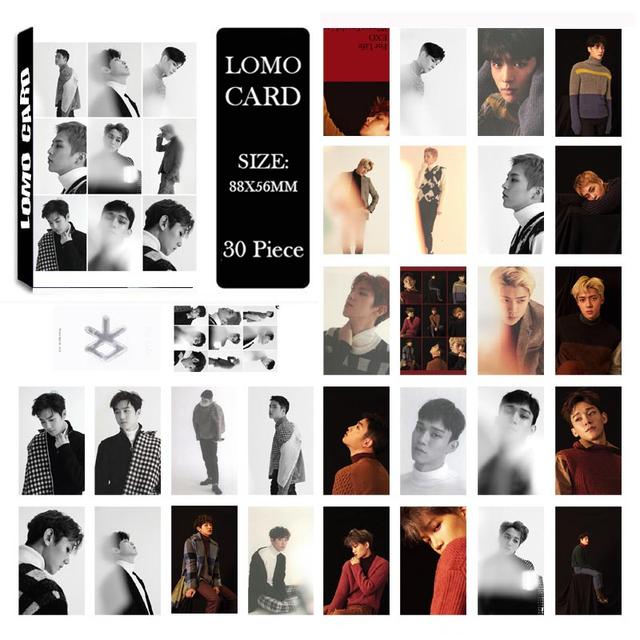Exo The War Photo Card Album (30 pcs)