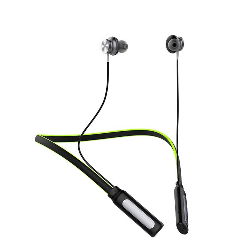 bilder für Drahtlose Bluetooth Kopfhörer Neckband Sport Stereo Headset Wasserdichte Magnet Mit Mikrofon Kopfhörer Für Telefon