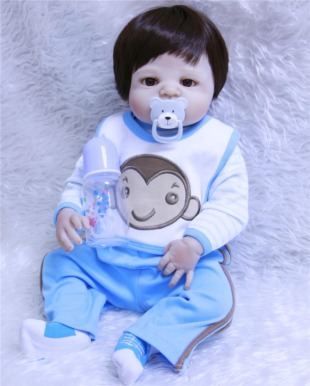 New design 55cm Soft full Silicone Doll Reborn Baby 22 Toy For baby Newborn Baby Birthday Gift bathe boy bonecas dolls for saleNew design 55cm Soft full Silicone Doll Reborn Baby 22 Toy For baby Newborn Baby Birthday Gift bathe boy bonecas dolls for sale