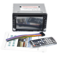 7 free shipping Car Radio Bluetooth Stereo fast 2 Din Touch Screen DVD/CD Player Remote control hand free USB/SD/AUX