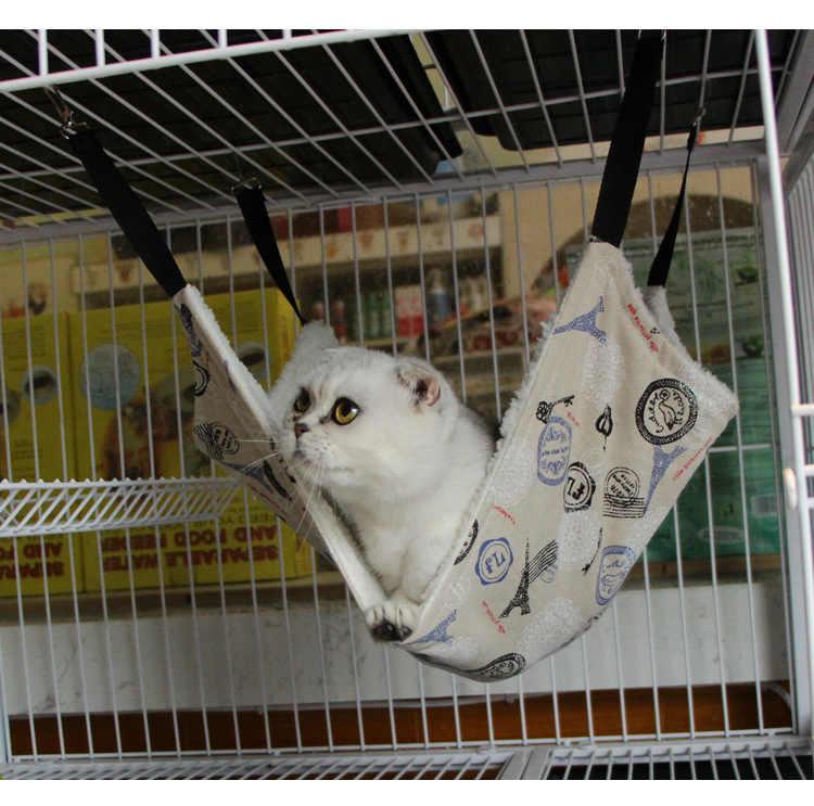 7 أنماط لطيف الحيوانات الأليفة البوليستر الجرذ الأرنب تشيهواهوا/القط قفص أرجوحة صغيرة كلب جرو السرير غطاء حقيبة البطانيات الكلب القط المنزل حصيرة