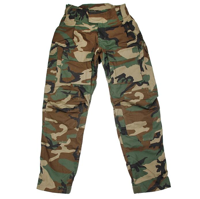 Woodland DF Combat Pants Airsoft Gamer Professional Outdoor Military Tactical Pants+Free shipping(STG051025) tactical airsoft paintball combat pants with knee pads soldier trainer outdoor sport survival field game trouser free shipping