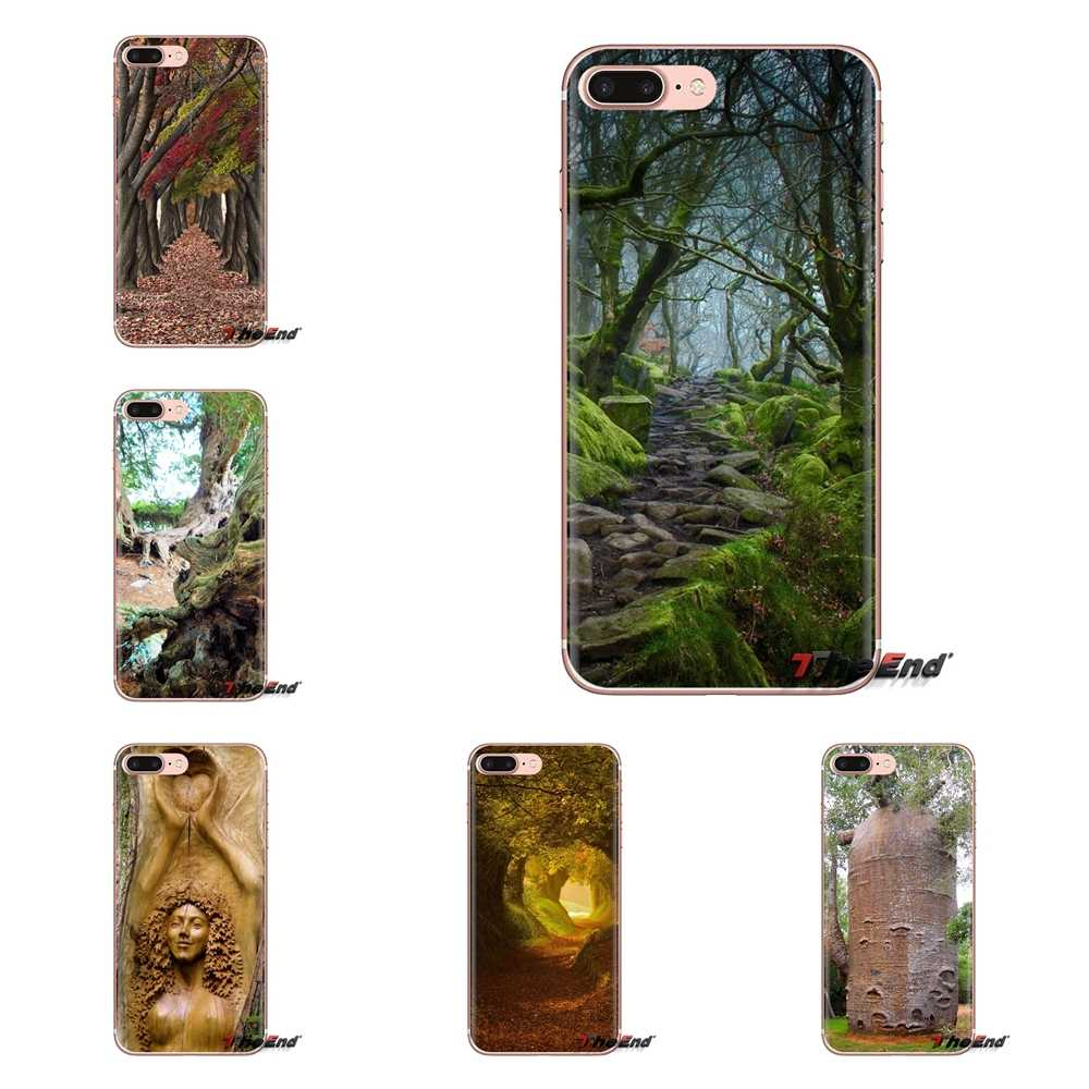 Soft Skin Cover For LG Spirit Motorola Moto X4 E4 E5 G5 G5S G6 Z Z2 Z3 G2 G3 C Play Plus Mini 1000 Year Old Yew Tree, West Wales