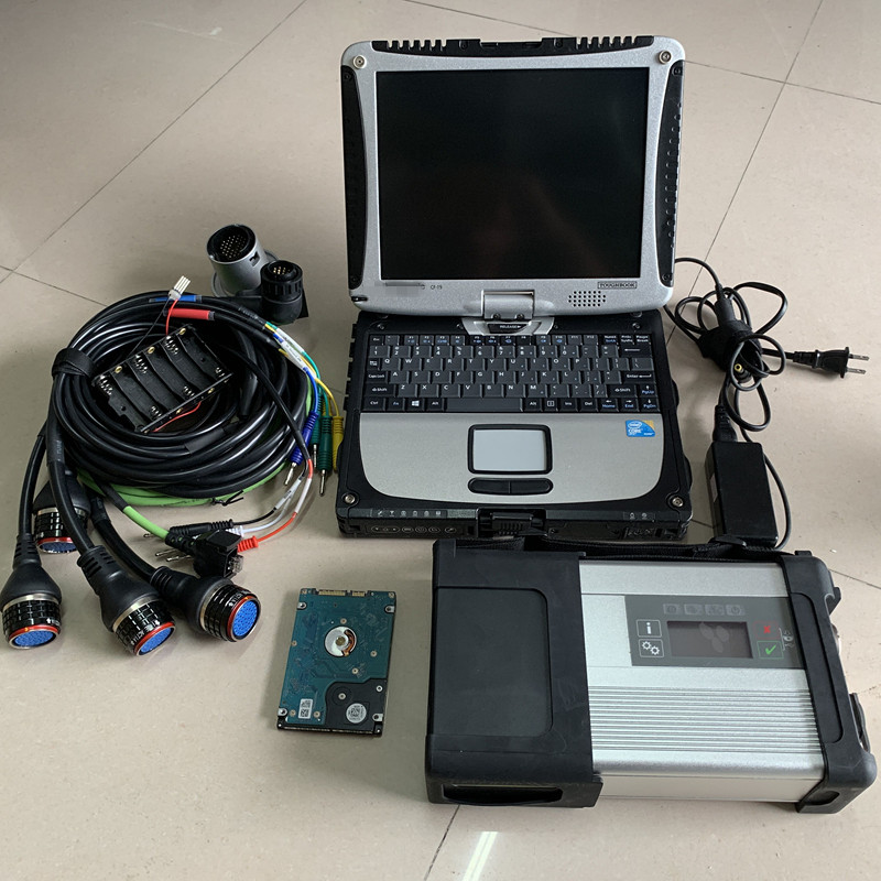 2019 MB SD Connect C5 MB STAR C5 with newest software 2019 05 ssd star diagnostic