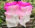 2016 женщин высокого качества Китайский пары танец живота вентиляторы дешевые шелковые вуали танец вентиляторы горячие продажи Розовый + Розовый + Белый
