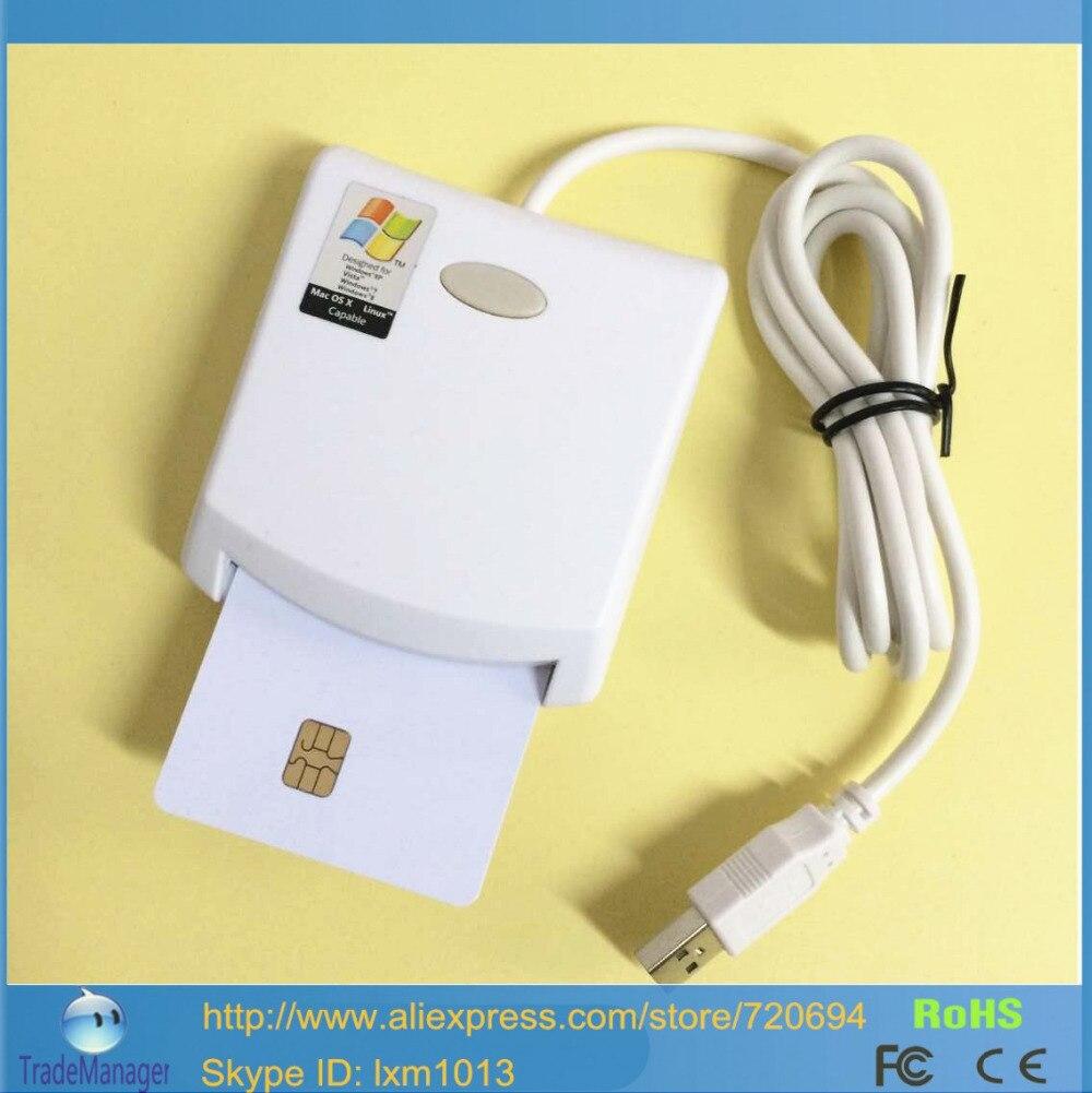 programmer contact emv sim eid smart chip card reader