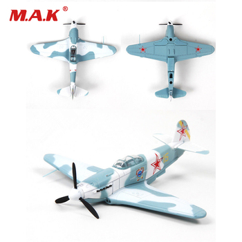 Kid Model Toys for Collection Yakovlev Yak-3 World War II Soviet Fighter 1/72 Diecast Aircraft Airplane Model for Children Gift цена 2017
