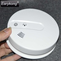2015 Free Shipping Hot Selling New 433 Wireless Photoelectronic Smoke Detector Fire Alarm Sensor For Home