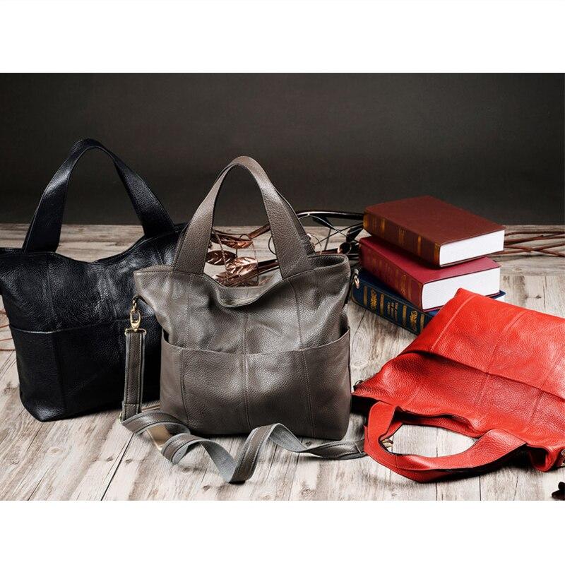 Amerikaanse real patchwork zachte vrouwelijke tas 2018 nieuwe tij - Handtassen - Foto 3