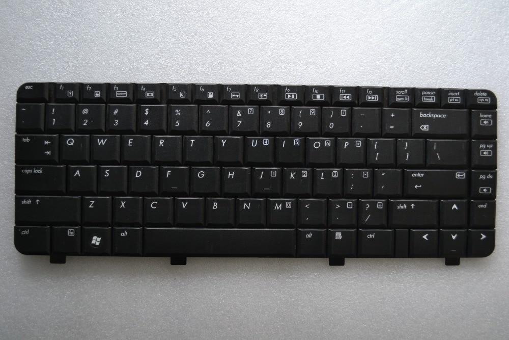 US New Keyboard For HP 540 550 6520 6720 6520B 6520S 6725 6525 455264-031 English black