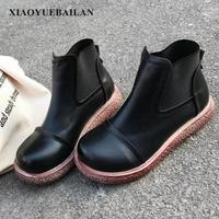 2017 Autumn New Thick Bottom Fresh Artistic Shoes Fashionable Comfortable Women Shoes