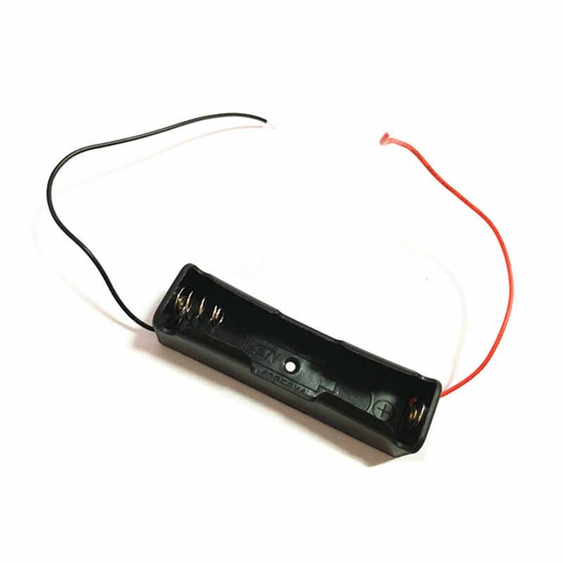 1 piezas 18650 de potencia de la batería de almacenamiento de la caja de soporte lleva con 1, 2, 3, 4 ranuras envío de la gota