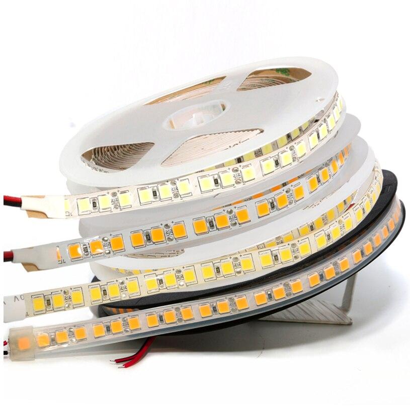 Waterproof Led Strip Light 5054 SMD 120Leds/M High Lumen Lustre Decoration Ribbon DC 12V LED Tape Flexible Lighting No Power