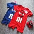 2016 Macacão de Bebê Novo Dos Desenhos Animados da Roupa Do Bebê Infantil Do Bebê Da Menina do Menino Macacão Romper One-Pieces Outfits Traje 0-18 M
