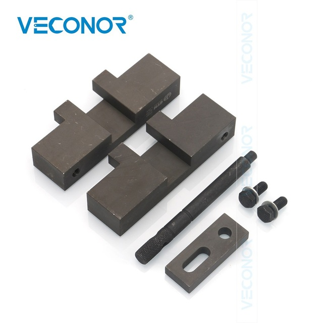 Veconor Petrol Engine Timing Tool Camshaft Alignment Flywheel Locking Carbon Steel For BMW M50 M42
