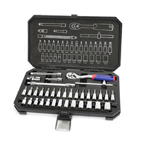 WORKPRO 35PC Tool Set Home Instruments Set of Tools for Car Repair Tools 1/4 Dr. Socket Set Ratchet Wrench