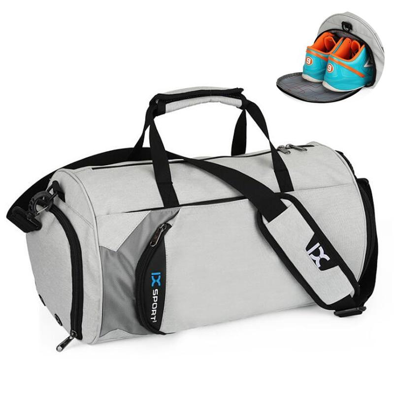 Hot Outdoor Waterproof Men Sports Gym Bag With Shoes Pocket For Training Fitness Shoulder Bag Women Travel Yoga Handbag