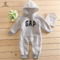 Autumn Winter Baby Rompers Clothes Long Sleeved Newborn Bebe Clothes Boy Girl Cotton Hooded Baby Jumpsuit Newborn Baby Clothing