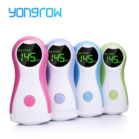 Yongrow Fetal Doppler Baby Monitor LCD Display Portable Baby Heart Rate Monitor With Earphone YK 90C For Pregnant Women