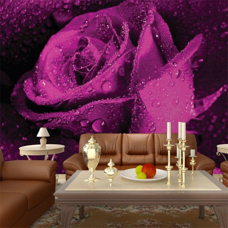 Online Get Cheap Paars Behang Voor Slaapkamer -Aliexpress.com ...