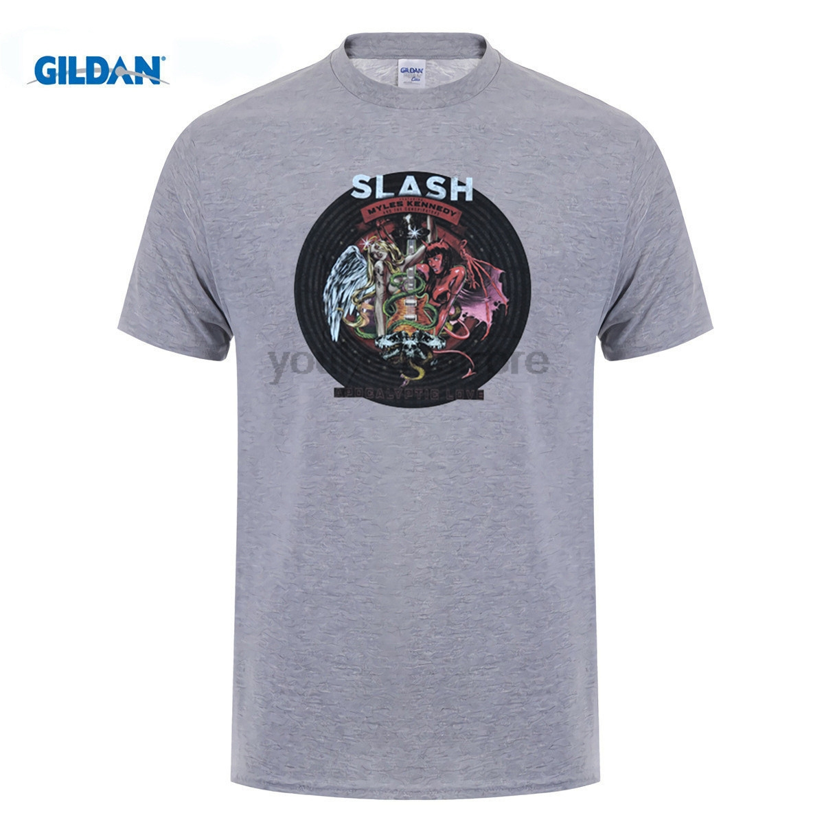 GILDAN Guns N Roses Slash T Shirt Rock Band Tee Men Women T-Shirt Guns and Roses GNR Tshirt Rock Theme Clothing