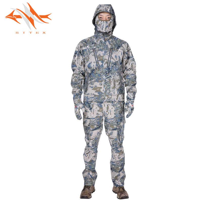 2018 new sitex open country hunting jacket+pants Sitka Jetstream Jacket with the paragraph