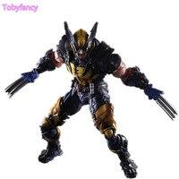 Wolverine Figure LOGAN Play Arts Kai PVC Action Figure Wolverine James LOGAN Howlett X Men X